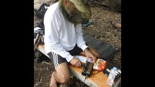 WBØJNR/KHØ operating QRP CW from Agrigan Island, Northern Mariana Islands