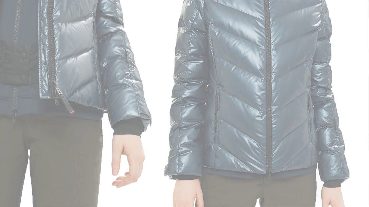 00c774a379 Bogner  Sassy D  Womens Ski Jacket in Navy - A Closer Look - YouTube