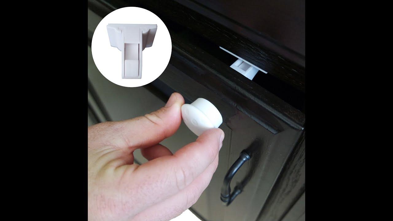 Magnetic Cabinet Locks Installation
