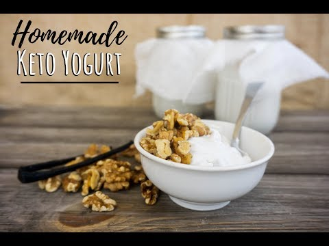2-ingredient-keto-yogurt-|-low-carb-vanilla-yogurt