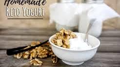 2 Ingredient Keto Yogurt | Low Carb Vanilla Yogurt
