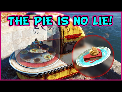 How to Get Perfectly Preserved Pie from Port-A-Diners in Fallout 4