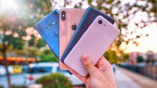Google Pixel 3 vs iPhone XS vs OnePlus 6T vs Note 9 Camera Review!