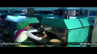Full Functioning of Khakhra Making Machine