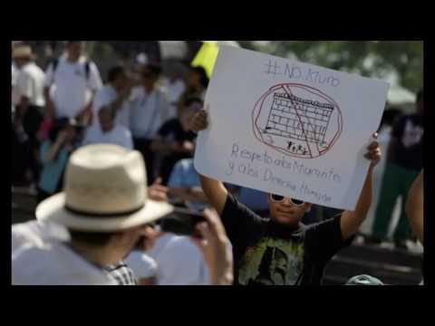 Mexico City mayor lays foundation stone of $5 million