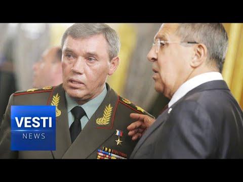 US Panics, Ukraine Trembles! Lavrov and Chief of Gen. Staff Gerasimov Launch Surprise Tour of Europe
