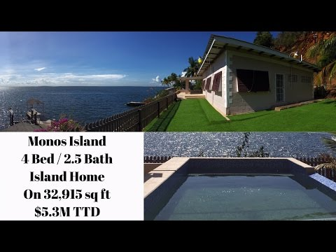 Waterfront Island Home | Monos Island, Trinidad and Tobago