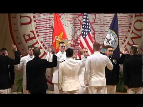 Commissioning Ceremony for Joshuah Young