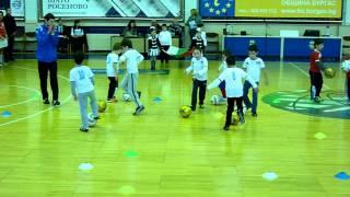 "Тренировка на ДФК""Звездичка"" за деца на 5 и 6 годинки"