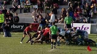 Rugby highlights España vs Rumania