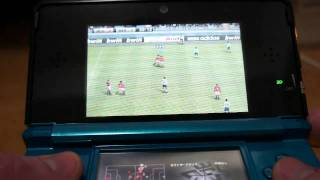 winning eleven 3D soccer/pro evolution soccer 2011 on nintendo 3DS, TV camera (1/2)