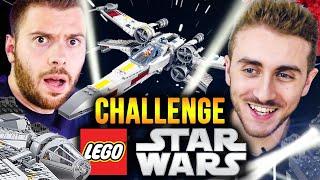CHALLENGE LEGO ft.SORA - Construire un vaisseau LEGO STAR WARS !