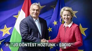 Orbán Viktor: Jó döntés volt Ursula von der Leyent támogatni 19-08-01