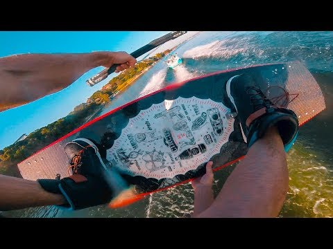A Perfect Morning ( GoPro POV Wakeboarding Behind Nautique G21 )