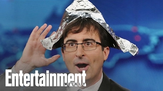 John Oliver Admits He Was Wrong About Donald Trump Candidacy | News Flash | Entertainment Weekly