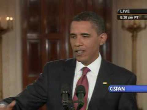 Pres. Obama on Transparent Health Care Negotiations and C-SPAN