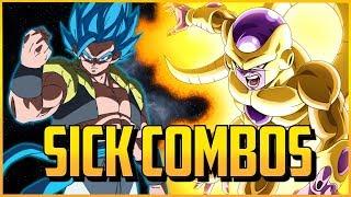 DBFZ ▰ Savage Gogeta & Frieza Combos 【Dragon Ball FighterZ】