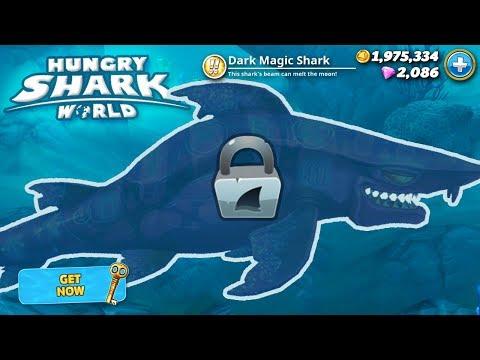 New Dark Magic Shark Unlocked!!! - Hungry Shark World   HD
