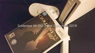 Goldeneye 007 Wii Multiplayer in 2019 Still Active Online