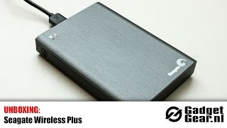 Unboxing: Seagate Wireless Plus