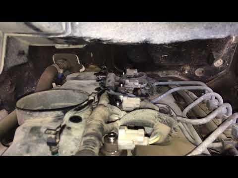 часть 3 Форд Транзит 2.4d 2008г диагностика форсунок механическая часть
