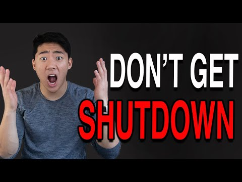 How To AVOID A Credit Card Shutdown