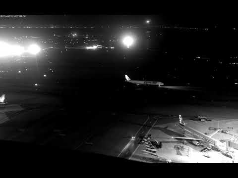 Air Canada Taxiway Overflight Video