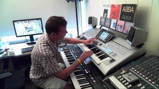 The Carpenters Top Of The World Performed On Yamaha Tyros 4 By Rico