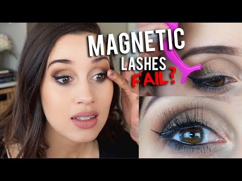 5e7345d2a89 Magnetic Eyelashes Review! - YouTube