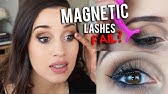 e1274120f03 HOW I APPLY MAGNETIC FALSE LASHES | No Glue!!!! - YouTube