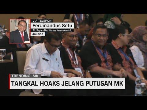 Tangkal Hoaks Jelang Putusan MK - Ferdinandus Setu, Plt. Ketua Biro Humas Kemenkominfo
