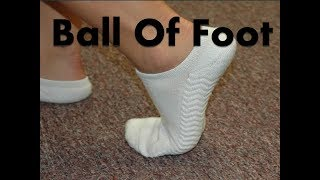 Ball of the Foot Pain - Home Diagnosis & Cure!