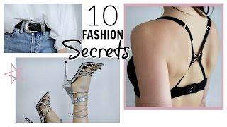 Video 10 FASHION SECRETS EVERY GIRL SHOULD KNOW! download MP3, 3GP, MP4, WEBM, AVI, FLV November 2017