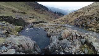 Snowdon Waterfalls on the Watkin Path