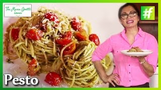 How-to Make Spaghetti With Pesto Sauce - Maria Goretti