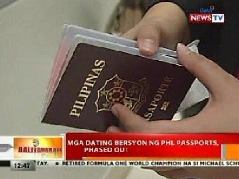 BT: Mga Dating Bersyon Ng PHL Passports, Phased Out Na Sa Nov. 24, 2015