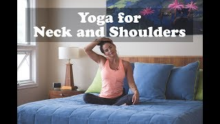 17 Minute Yoga Video for Neck and Shoulders