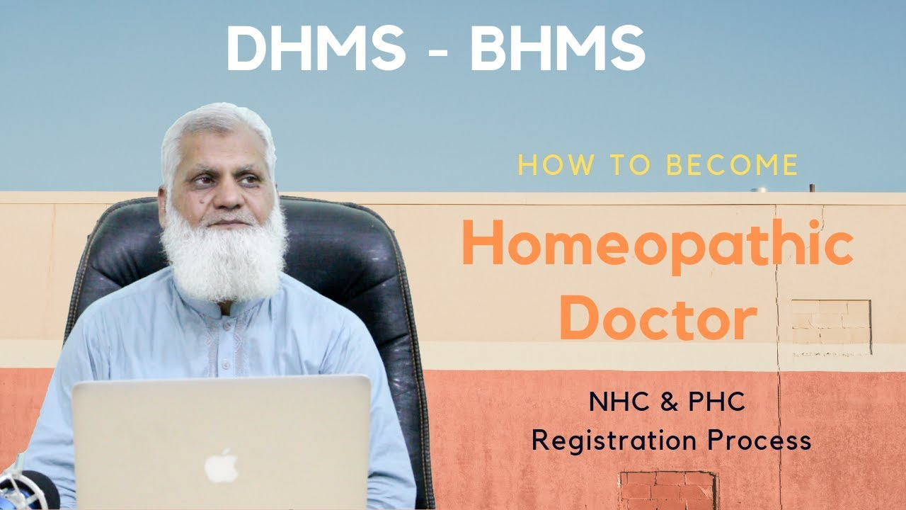 How to Become Homeopathic Doctor   NHC & PHC Registration Process   BHMS -  DHMS