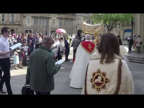 Corpus Christi Procession 2016- The Cathedral of St.Marie Sheffield England