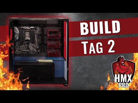 Die Höllen-Workstation Entsteht - HMX Pro Build Tag 2