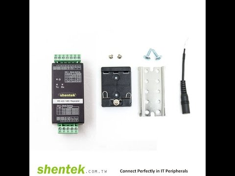 Industrial RS 422 RS485 RS422 RS 485 Repeater 3KV Isolation 600W Surge Converter With DIN Rail Kit C