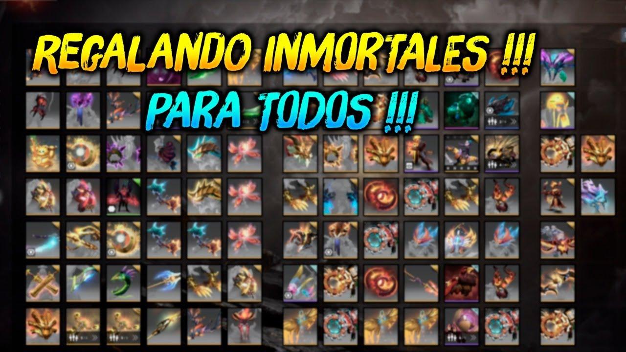 REGALANDO INMORTALES PARA TODOS !!! 😍 | Dota 2