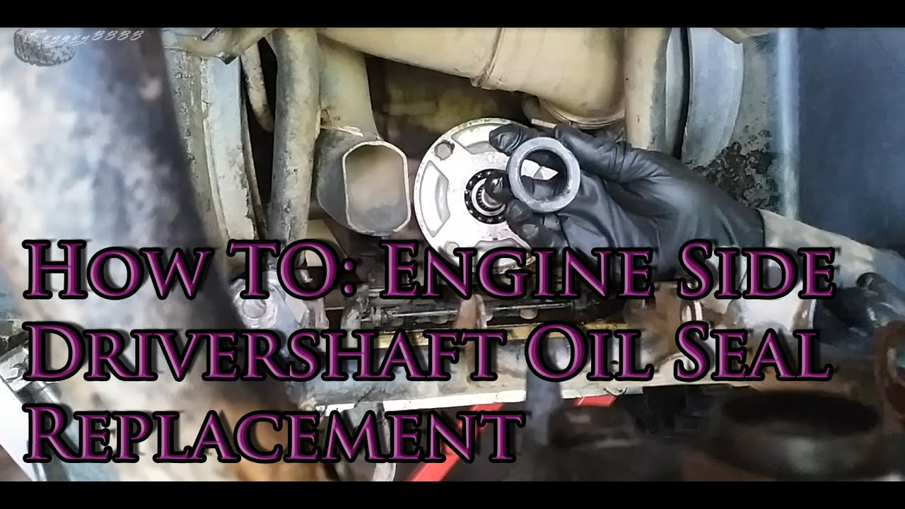 How To 02 07 Grizzly 660 Engine Side Rear Driveshaft Oil Seal 2006 Yamaha Rhino 450 Brake Diagram On Piston Caliper Youtube Premium