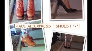 HAUL AliExpress SHOES!! - BabyAli