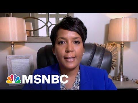 Atlanta Mayor Bottoms: Controversial Georgia Voting Law Is 'Dangerous' | Stephanie Ruhle | MSNBC