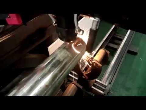 Laser Rotary Cutting Metal Pipe/Tube