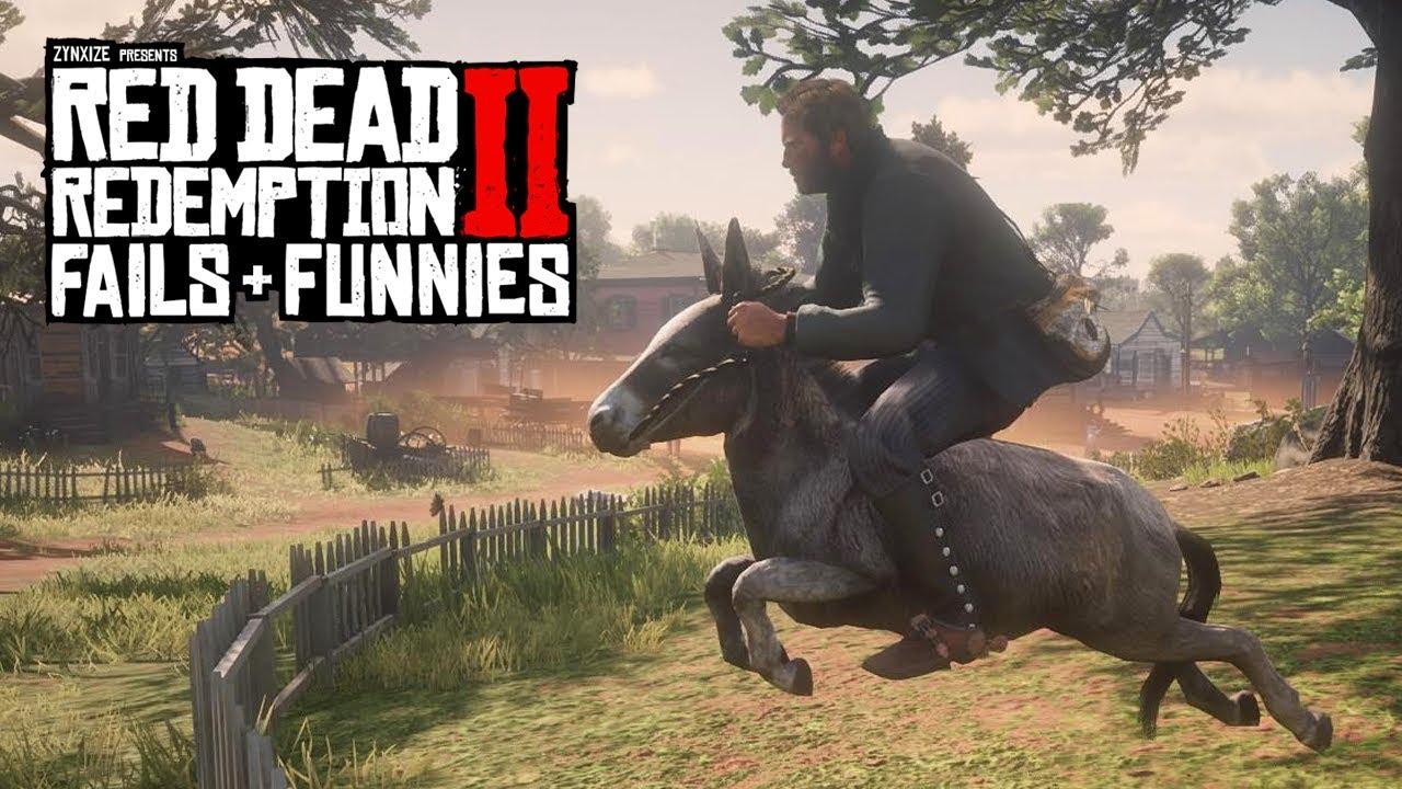 Red Dead Redemption 2 - Fails & Funnies #112 thumbnail