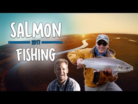 BLANKE LAKS OG RØDVINSPATTER (Del 2/2) - Skjern Å | Salmon Fishing