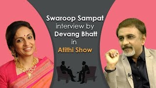 Swaroop Sampat Bollywood Movie Actress Interview by Devang Bhatt