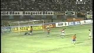 Perú 2 - Chile 1 Eliminatorias Francia 98 Comentario TV Chile Pedro Carcuro